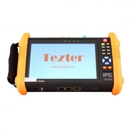 Универсальный монитор-тестер AHD/CVI/TVI/CVBS и IP-видеосистем Tezter TIP-H-7