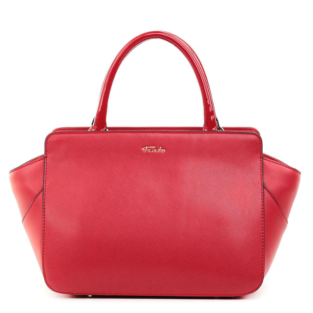 5377 Fiato  кожа /лак красный (сумка женская)