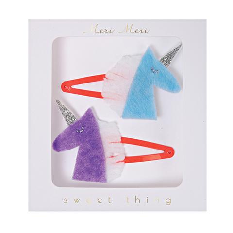 Заколки для волос из фетра