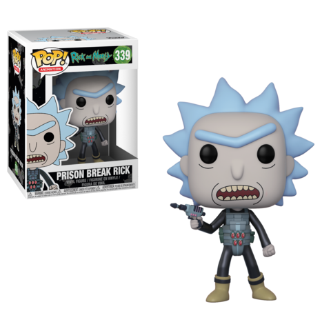 Фигурка Funko POP! Vinyl: Rick  Morty: Prison Escape Rick 28450