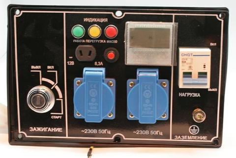 Панель контрольная DDE DPG7201i генератора