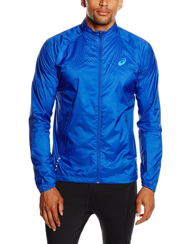 Мужская ветровка Asics Woven Jacket blue (121603 8107) фото