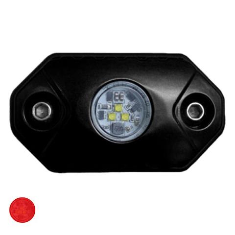 Светодиодная фара  рабочего красного света Аврора  врезная ALO-Y-2-R ALO-Y-2-R  фото-1