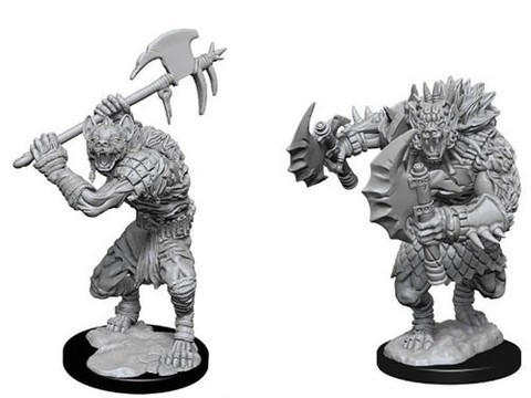 D&D Nolzur's Marvelous Unpainted Miniatures - Gnolls (6 Units)
