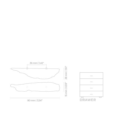 Мебельная Ручка PullCast KESYA EA1003