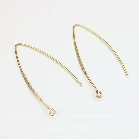 Швензы - крючки Длинные 44х19 мм (цвет - античная бронза)