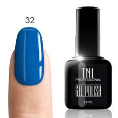 TNL, Гель-лак № 032 - сапфир (синий)(10 мл)