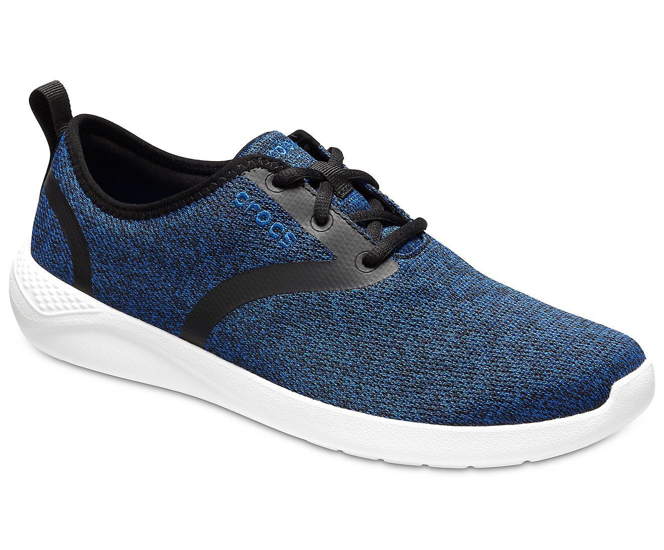 Кроссовки Crocs Men's LiteRide Lace-Up Синие