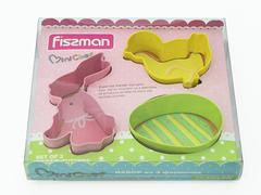 8569 FISSMAN Формы для вырезания печенья 3 шт