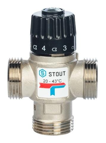 Термостатический смесительный клапан Stout 1