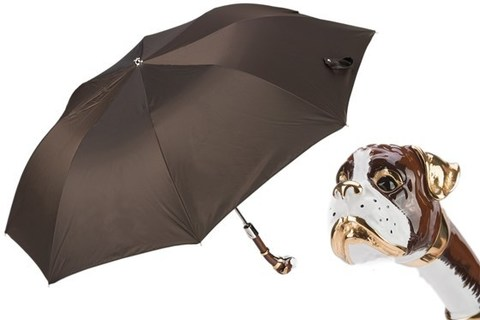 Зонт складной Pasotti Boxer Folding Umbrella, Италия.