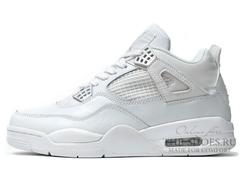 Кроссовки Мужские Nike Air Jordan IV Retro White