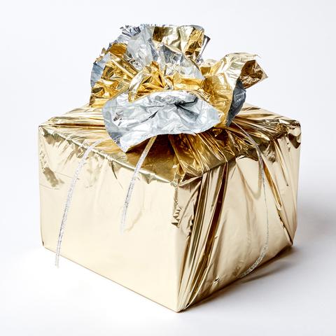 """Новогодняя упаковка подарка """"САЛЮТ"""""""