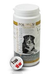 """POLIDEX """"Мультивитум Плюс"""" поливитаминно-минеральный комплекс для щенков и собак крупных пород"""