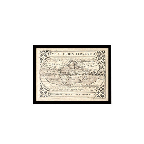 Постер Eichholtz 106907/1 Vintage Map (1 шт.)