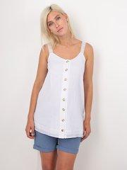Евромама. Блуза-топ для беременных и кормящих батистовая, белый