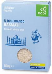 Рис Басмати белый БИО, 500г (Италия)
