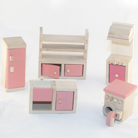Кукольная деревянная мебель