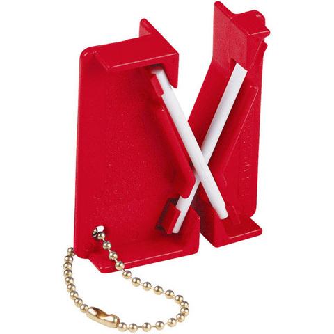 Керамическая карманная точилка для ножей на ключи Lansky модель LCKEY