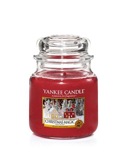 Ароматическая свеча Рождественское волшебство, Yankee Candle