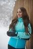 Женский утеплённый прогулочный лыжный костюм Nordski Montana Sky-Blue 2020