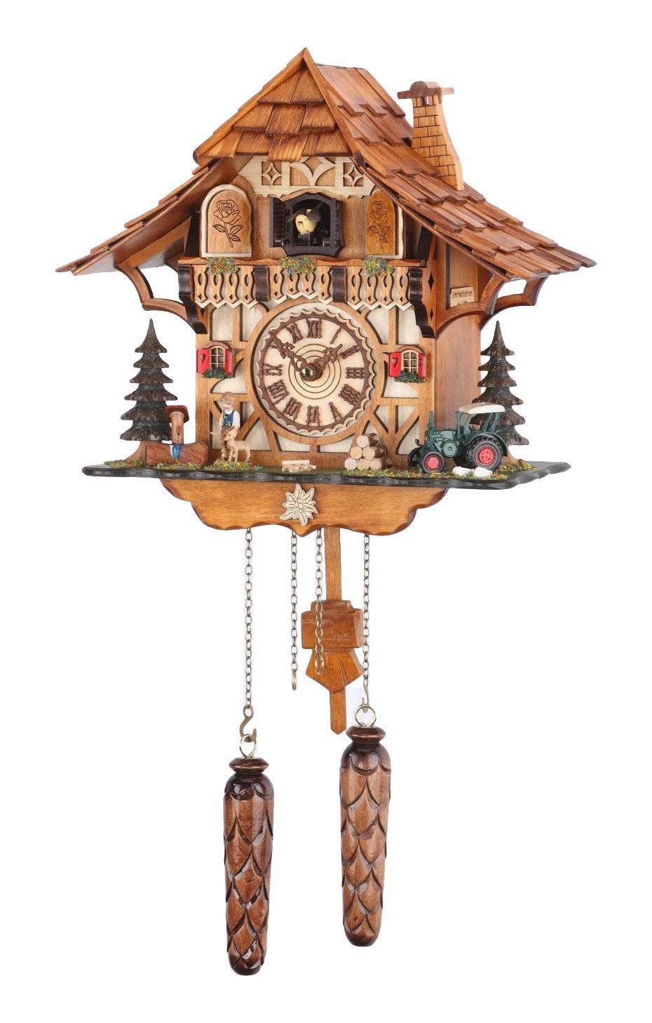 Часы настенные Часы настенные с кукушкой Trenkle 482 QM HZZG chasy-nastennye-s-kukushkoy-trenkle-482-qm-hzzg-germaniya.jpg