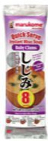 Instant Miso Soup Baby Clams(8pk)