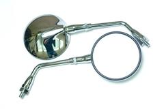 Зеркала для мотоцикла Honda CB1000, CB1300, CB600 Серебро