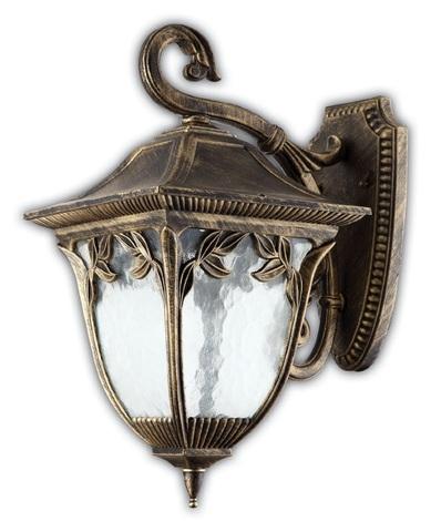 Светильник садово-парковый, 100W 220V E27 черное золото , IP44 , PL4082 (Feron)