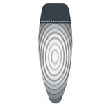 Чехол &#34Parking Zone&#34 135х45см (D) с термозоной для утюга, 2 мм поролона, Титановые круги, артикул 266782, производитель - Brabantia