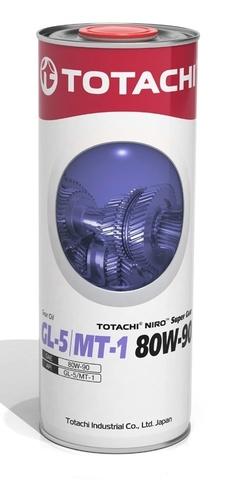 NIRO™ SUPER GEAR SAE 80W-90, GL-5 / MT-1 TOTACHI масло трансмиссионное минеральное для МКПП (1 Литр)