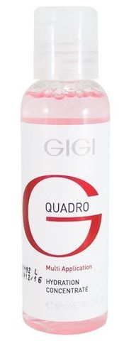 Gigi Quadro Multi-Application Hydration concentrate, Увлажняющий концентрат, 60 мл.