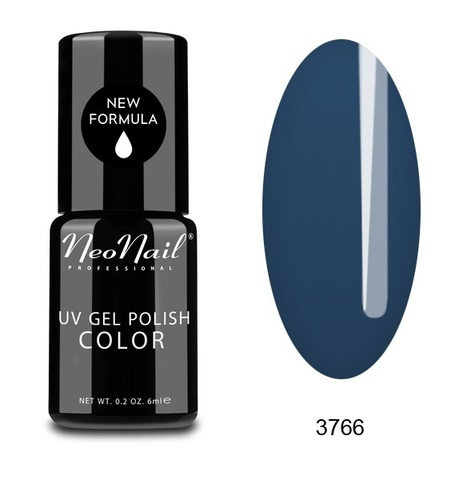 NeoNail Гель лак UV 6ml Solid Navy №3766-1