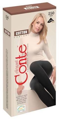 Колготки Conte хлопковые COTTON 250