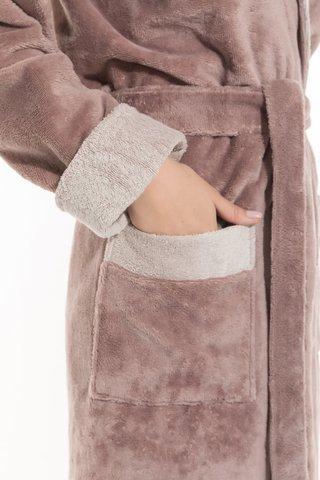 Бамбуковый женский халат Belette 735 капучино PECHE MONNAIE Россия