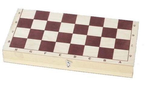 Шашки деревянные с доской (290*145)