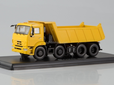 KAMAZ-6540 8x4 tipper yellow 1:43 Start Scale Models (SSM)