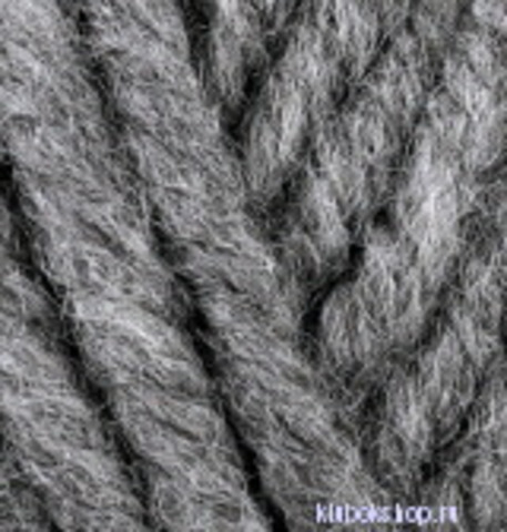 Alize Superlana Megafil 182 Средне-серый меланж, фото