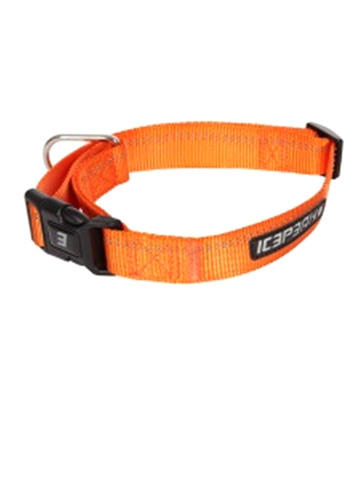Ошейник ICEPEAK PET WINNER BASIC COLLAR, 100% полиэтер , оранжевый, размер XS