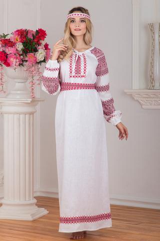 Славянское платье Беляна