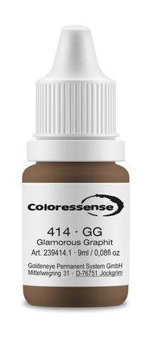 GG (гламурный графит) • Coloressense • пигмент-концентрат для бровей