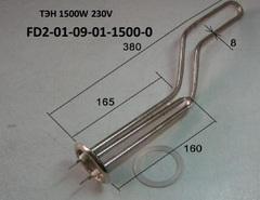 ТЭН 1500 W Polaris FD2-30H