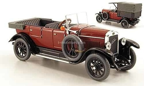 Laurin & Klement 110 Pick-up 1927 purple red Abrex 1:43