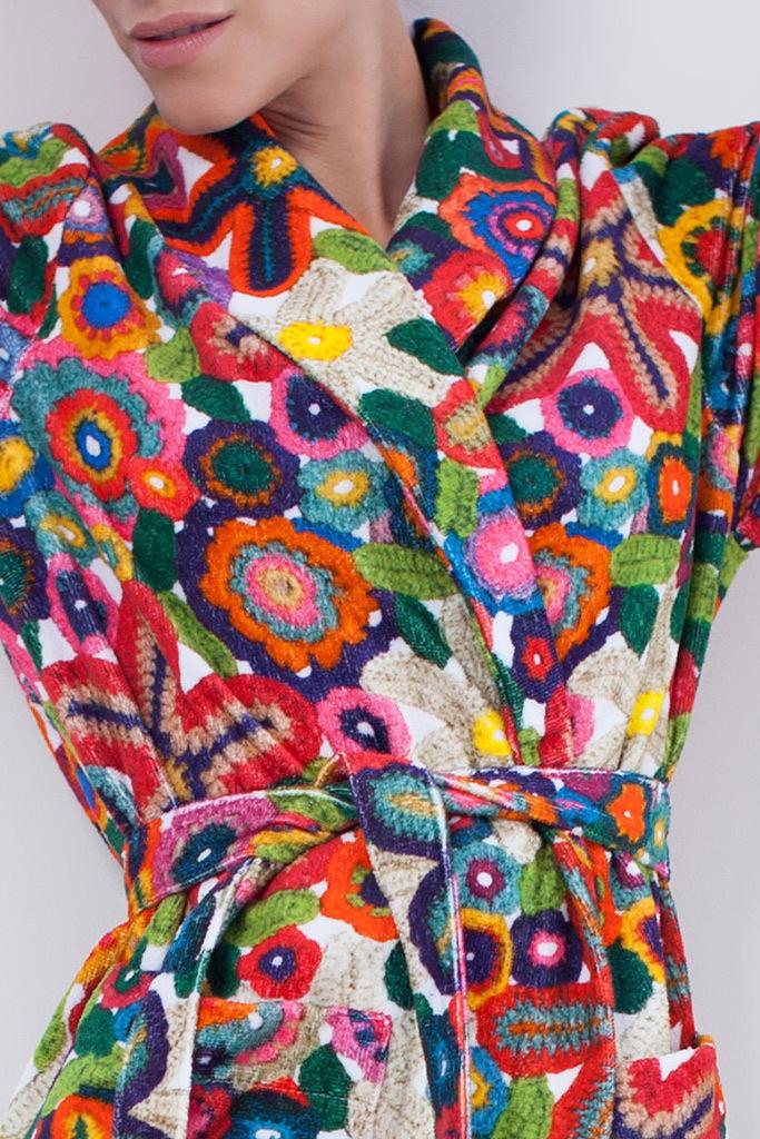 Велюровый халат класса люкс Luna di Giorno