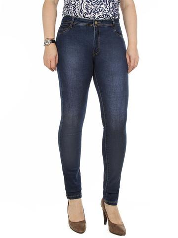 004 джинсы женские, синие