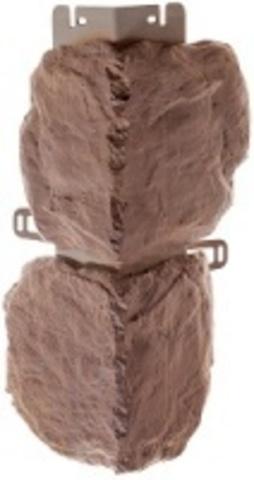 Наружный угол Альта профиль Бутовый камень Скифский 440х180 мм