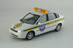Lada-Kalina MChS and Chevrolet-Niva Fire Department Cararama 1:43