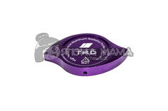 Накладка на крышку радиатора TRD фиолетовая