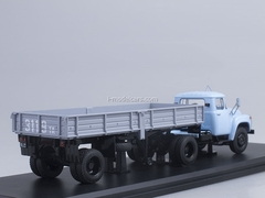 ZIL-130V1 late with semitrailer ODAZ-885 1:43 Start Scale Models (SSM)