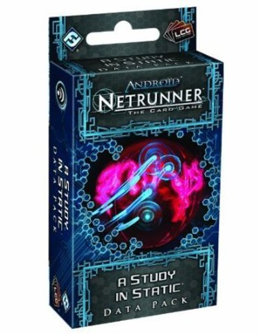 Android Netrunner LCG: A Study In Static Data Pack (Genesis Cycle)